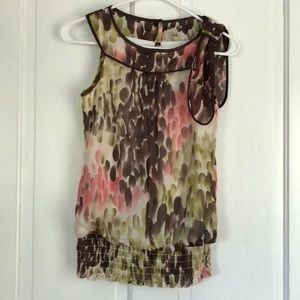 Blouse Tank with bow detail
